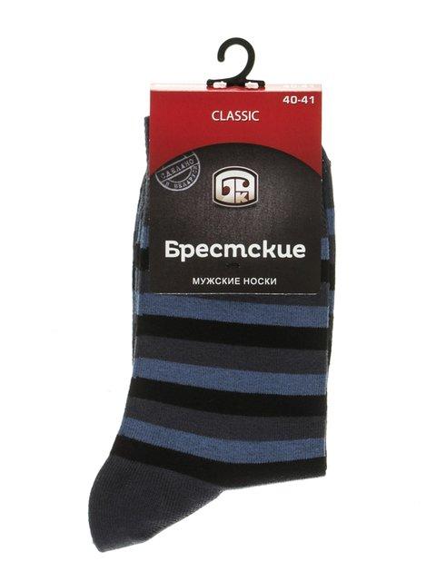 Шкарпетки триколірні в смужку DIWARI 2621708
