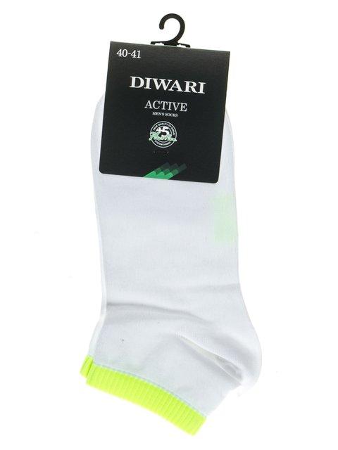 Шкарпетки салатово-білі DIWARI 2621668