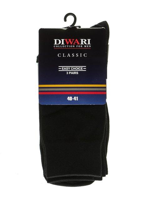 Шкарпетки чорні DIWARI 2621700