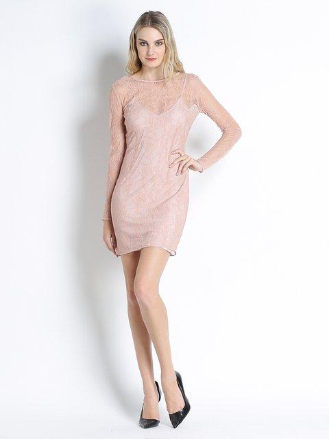 Платье розовое Pinko 2625483