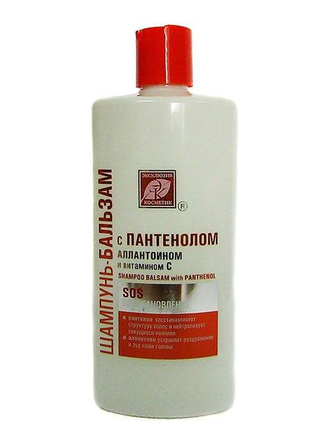 Шампунь-бальзам для волосся після фарбування і хімзавивок (500 г) Эксклюзивкосметик 2632624