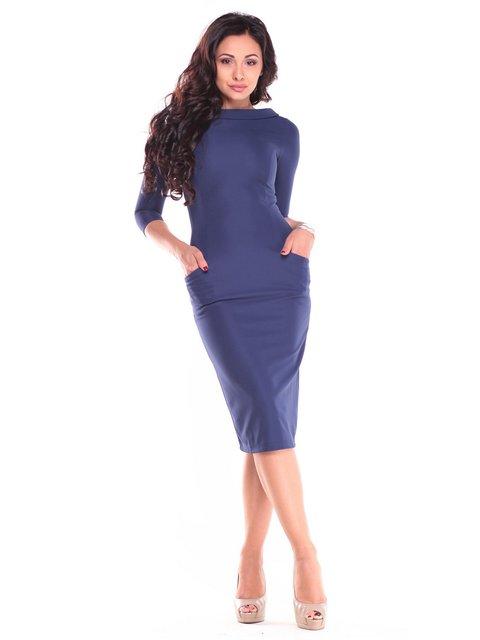 Сукня темно-синя Laura Bettini 2646863