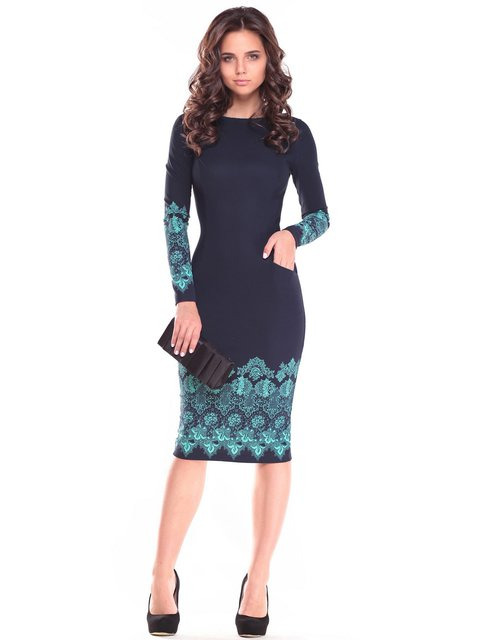 Платье с принтом Dioni 2646866
