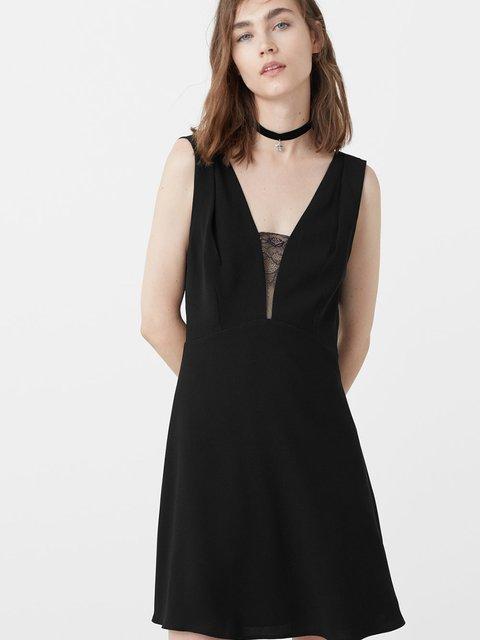 Сукня чорна Mango 2646689