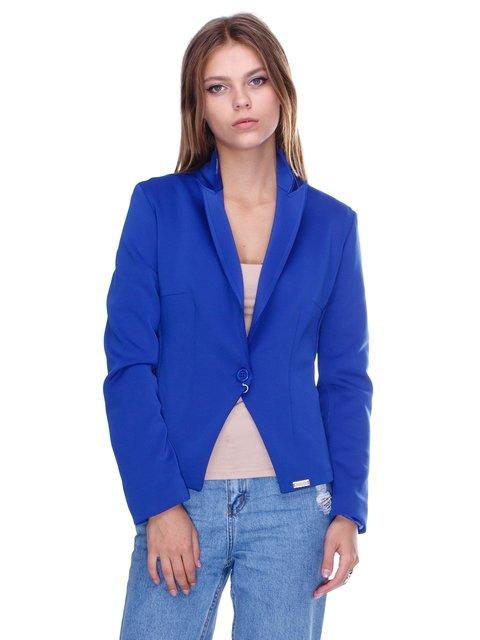 Жакет ярко-синий JUST-R 2638746