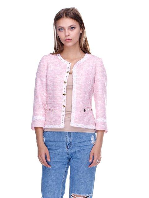 Жакет розовый JUST-R 2638518