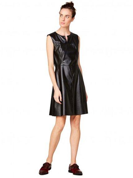 Платье черное Benetton 2637071