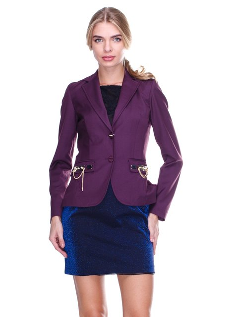 Жакет фиолетовый JUST-R 2638650