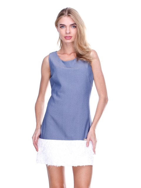 Платье двухцветное JUST-R 2638579