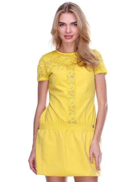 Платье желтое JUST-R 2638540