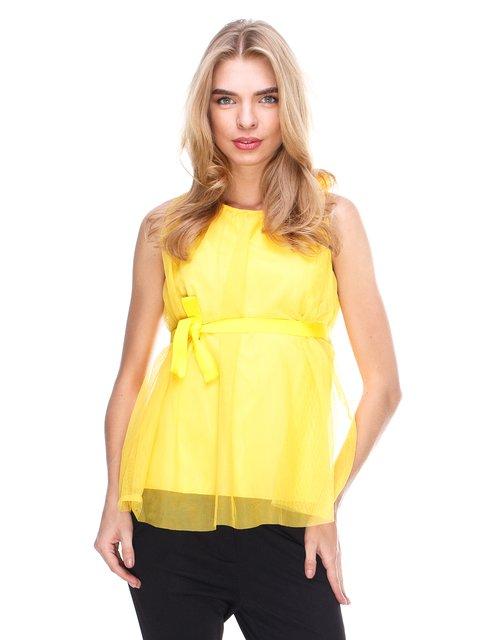 Блуза желтая JUST-R 2645156