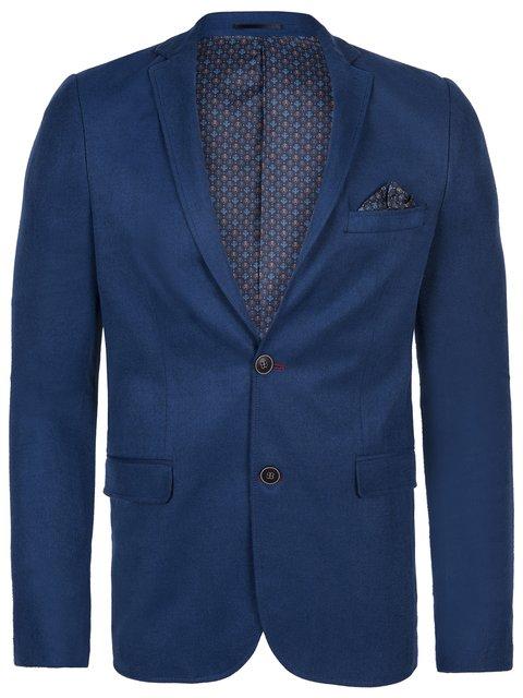 Піджак кольору індиго Giorgio di Mare 2528586