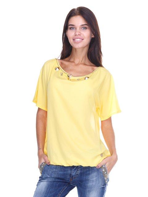 Блуза жовта JUST-R 2645164