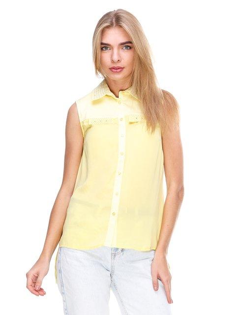 Блуза желтая JUST-R 2645159