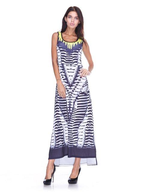 Платье серое JUST-R 2638698