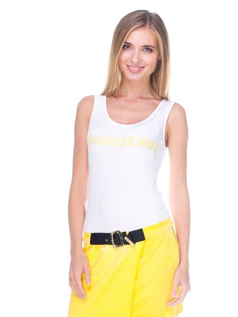 Платье желто-белое JUST-R 2638567