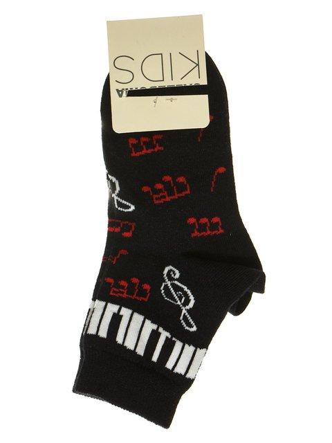 Шкарпетки чорні з принтом Calzedonia 2654262