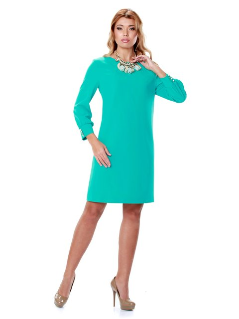 Сукня синя в принт Lesya 2045744