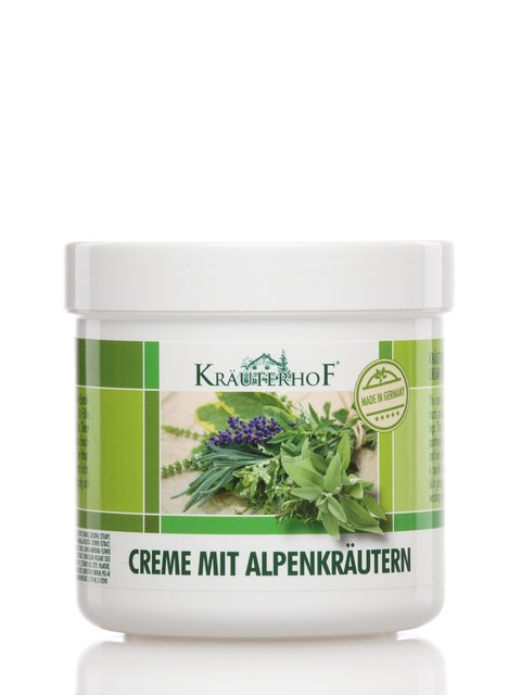 Крем для ног с альпийскими травами (250 мл) Krauterhof 2671726