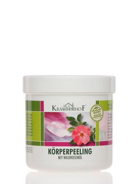 Пилинг для тела с маслом дикой розы (400 мл) Krauterhof 2671749