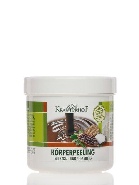 Пилинг для тела с маслом ши и какао (400 мл) Krauterhof 2671751