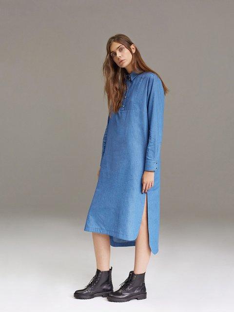 Платье голубое ANNA YAKOVENKO 2679887