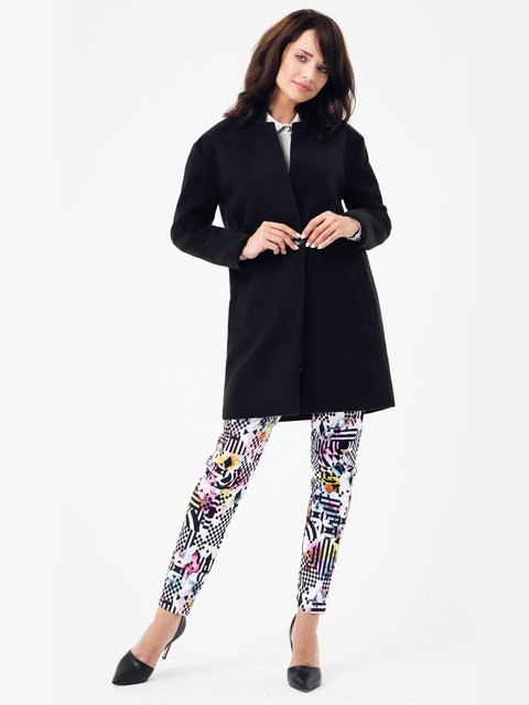 Пальто черное Peperuna 2686122