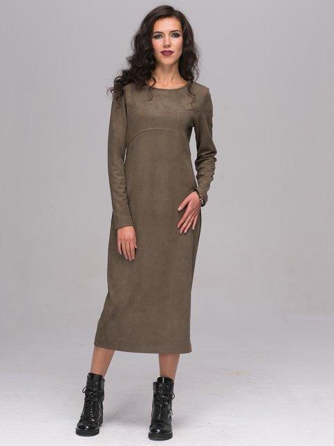 Платье цвета хаки Jet 2689661