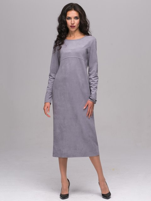 Платье серое Jet 2689664