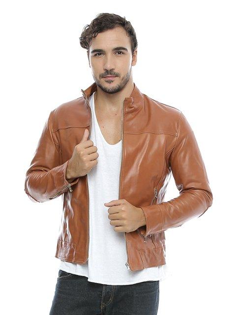Куртка коричнева Mangotti 2701001