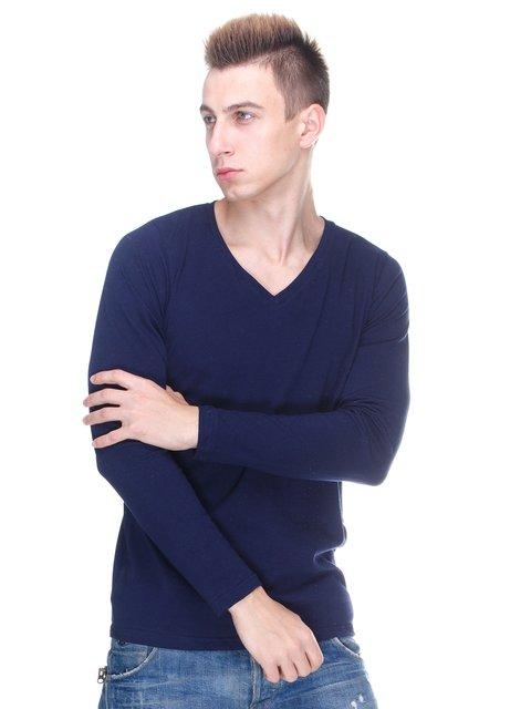 Пуловер темно-синий HiBrand 2708186