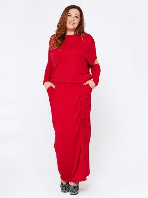 Платье красное MOONLIGHT 2714659