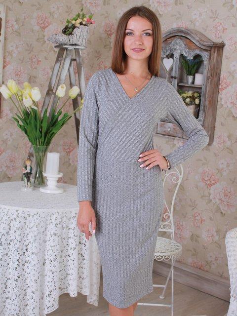 Платье серое VSV 2740415