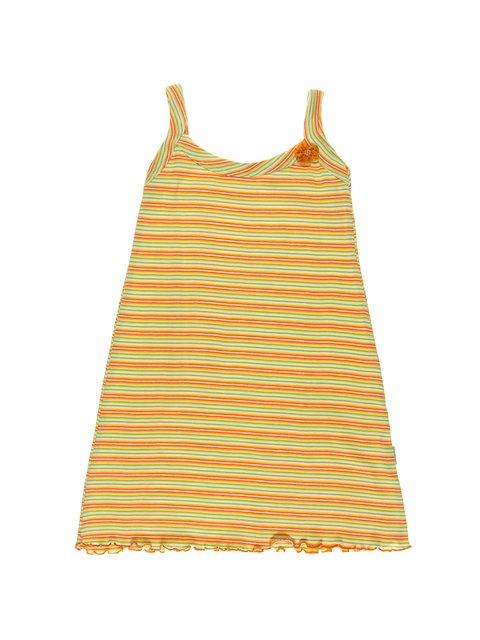 Сорочка нічна помаранчева в смужку KAZAN 1306703