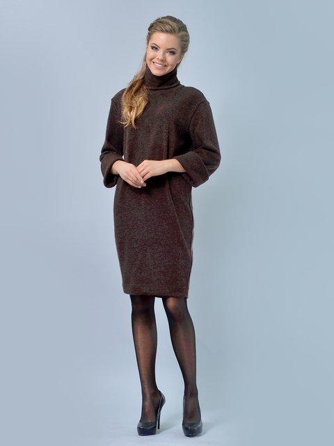 Сукня коричнева LILA KASS 2753155