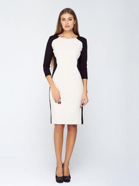 Сукня чорно-біла MOONLIGHT 2755533
