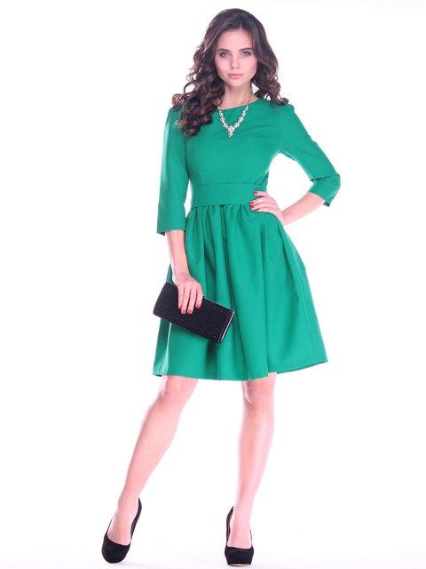 Платье изумрудного цвета Dioni 2757811