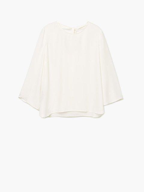 Блуза біла Mango 2772432