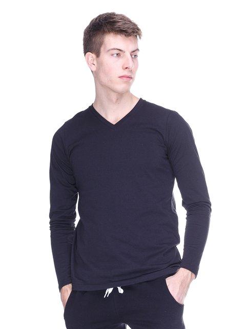 Пуловер чорний HiBrand 2770160