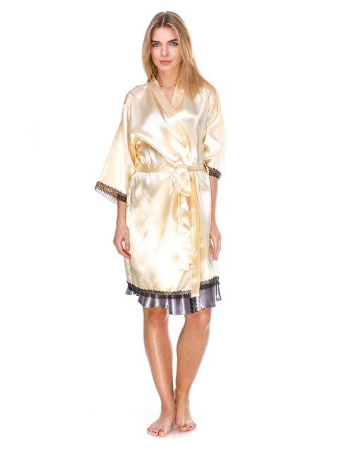 Халат золотистого кольору Angelo dolce 2770133