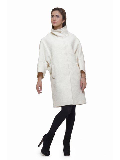 Пальто молочного цвета Victoria Bloom 2783186