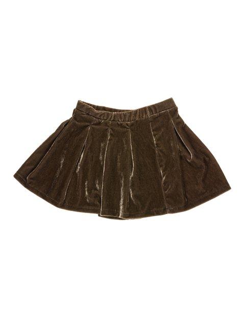 Юбка цвета хаки Zara Kids 2774545