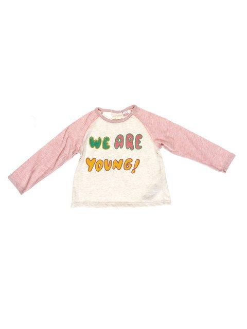 Реглан розовый с принтом Zara Kids 2777648
