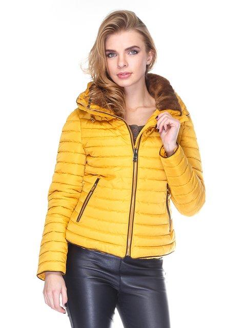 Куртка желтая Zara 2751529