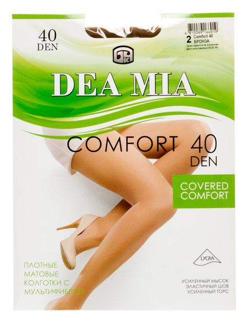 Колготки бронзового кольору 40 Den DEA MIA 2821096
