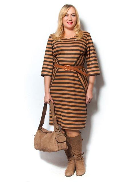 Платье в полоску LibeAmore 2813594