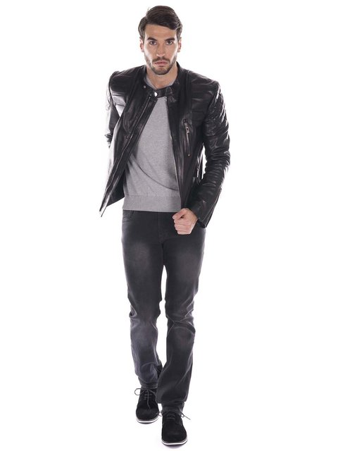 Куртка черная Giorgio di Mare 2527990