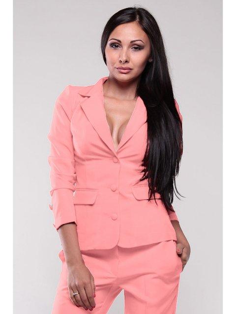 Жакет темно-персикового кольору Dioni 2833227