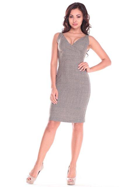 Сукня кольору бежевий хакі Dioni 2833271
