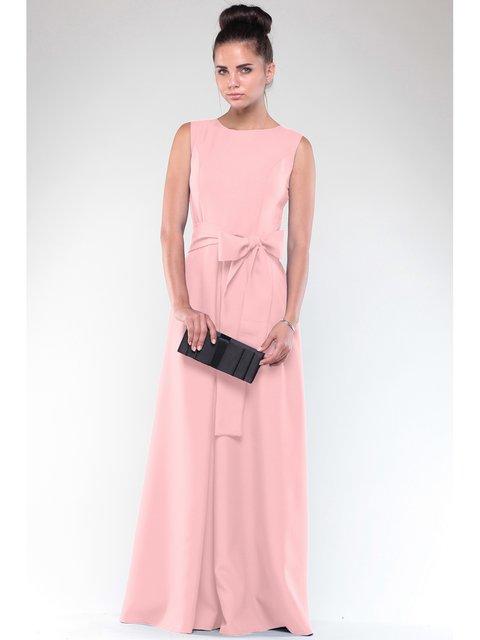 Платье персикового цвета Maurini 2833437